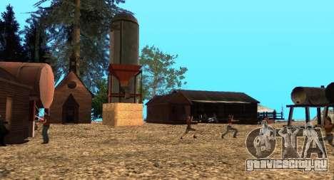 Лагерь Altruist на горе Чилиад для GTA San Andreas девятый скриншот