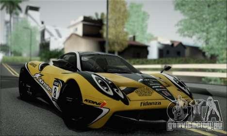 Pagani Huayra TT Ultimate Edition для GTA San Andreas вид справа