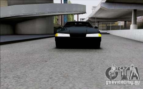 Japan Elegy для GTA San Andreas вид сзади слева