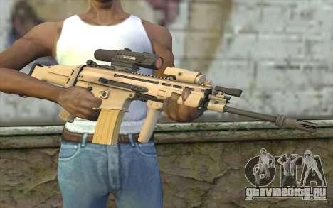 MK16 MK4CQ-T для GTA San Andreas третий скриншот