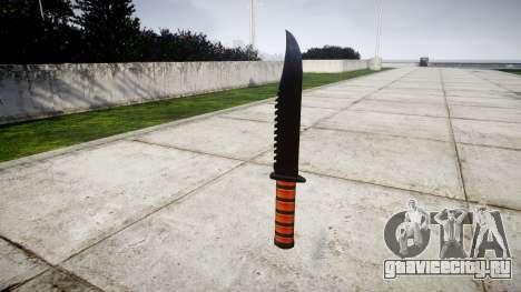 Боевой нож Ka-Bar для GTA 4 второй скриншот