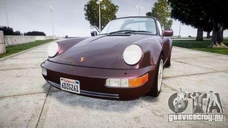 Porsche 911 (964) Targa для GTA 4