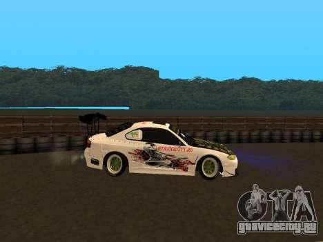 Nissan Silvia S15 VCDT для GTA San Andreas вид слева