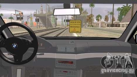 BMW 520d E39 2000 для GTA San Andreas вид сзади слева
