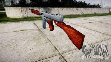 Пистолет-пулемёт Thompson M1A1 box icon2 для GTA 4 второй скриншот