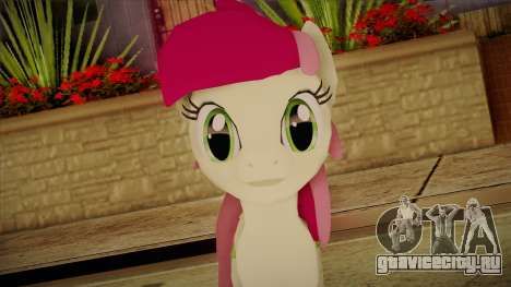 Roseluck from My Little Pony для GTA San Andreas третий скриншот