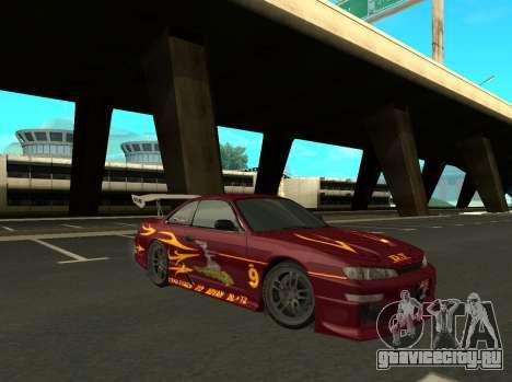 Nissan 200SX FnF1 (Letty car) для GTA San Andreas