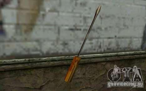 Отвёртка (GTA Vice City) для GTA San Andreas второй скриншот