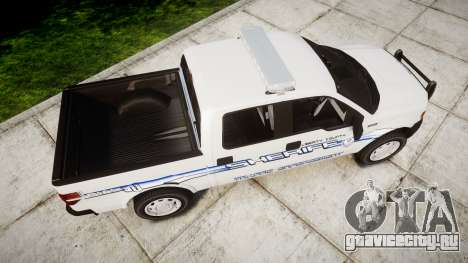 Ford F-150 [ELS] Liberty County Sheriff для GTA 4 вид справа