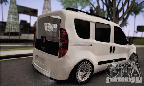 Fiat Doblo 2010 Edit для GTA San Andreas вид слева