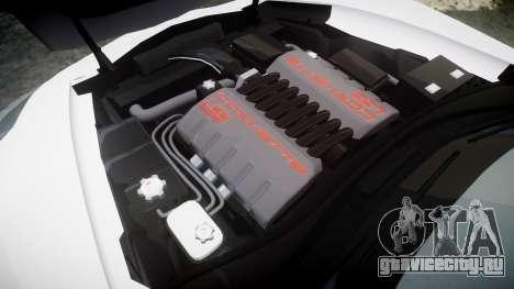 Chevrolet Corvette Z06 2015 TireBr3 для GTA 4 вид сбоку
