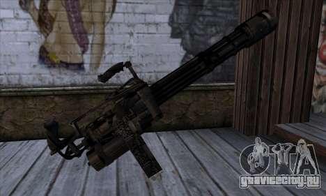 Пулемёт Вулкан v1 для GTA San Andreas второй скриншот
