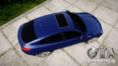 BMW X6M rims1 для GTA 4 вид справа