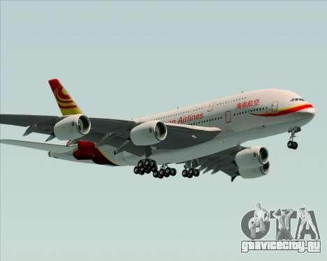 Airbus A380-800 Hainan Airlines для GTA San Andreas вид сбоку