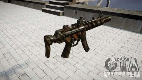 Пистолет-пулемёт MP5SD DRS CS для GTA 4 второй скриншот