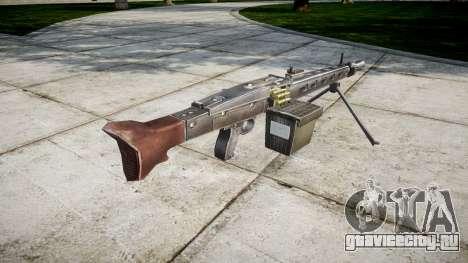 Немецкий пулемёт MG3 icon1 для GTA 4 второй скриншот