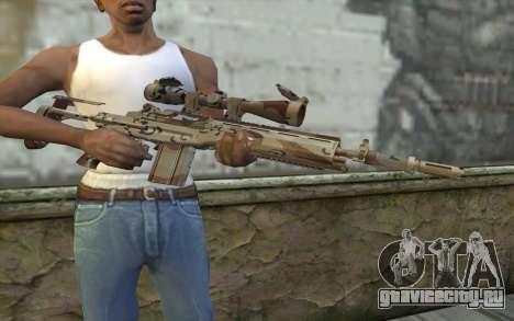 M14 EBR Chipdesert для GTA San Andreas третий скриншот
