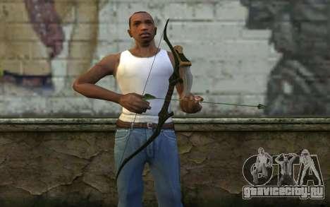 Green Arrow Bow v3 для GTA San Andreas третий скриншот