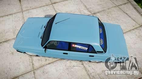 ВАЗ-2107 best model для GTA 4 вид справа