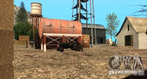 Лагерь Altruist на горе Чилиад для GTA San Andreas четвёртый скриншот