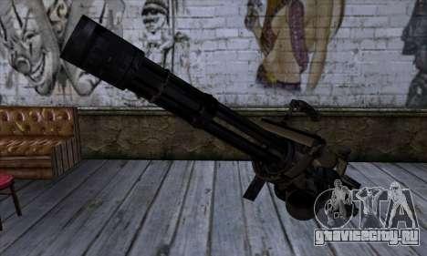 Пулемёт Вулкан v1 для GTA San Andreas