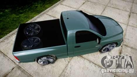 Dodge Ram для GTA 4 вид справа