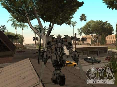 Transformers 3 Dark of the Moon Skin Pack для GTA San Andreas четвёртый скриншот