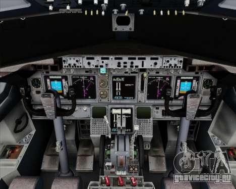 Boeing 737-800 House Colors для GTA San Andreas салон