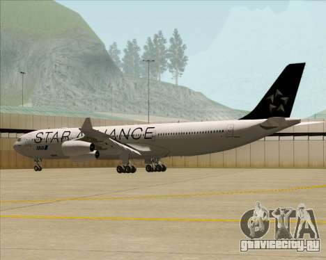 Airbus A340-300 All Nippon Airways (ANA) для GTA San Andreas вид сбоку