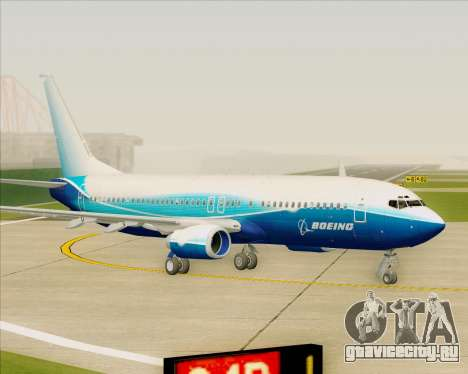 Boeing 737-800 House Colors для GTA San Andreas вид слева
