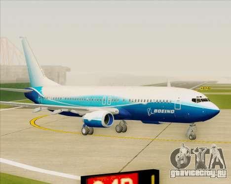 Boeing 737-800 House Colors для GTA San Andreas вид слева