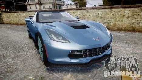 Chevrolet Corvette Z06 2015 TireMi1 для GTA 4