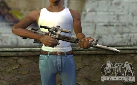 СВУ с Оптикой для GTA San Andreas третий скриншот