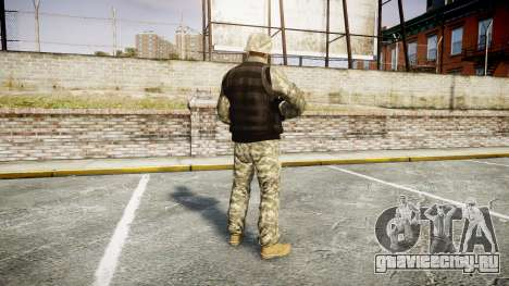 Medal of Honor LTD Camo1 для GTA 4 третий скриншот