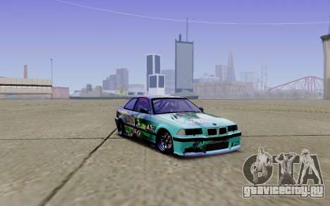 BMW M3 E36 Gorilla Energy Team для GTA San Andreas