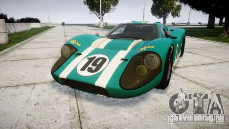 Ford GT40 Mark IV 1967 PJ Schila Racing 19 для GTA 4