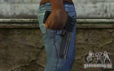 Desert Eagle Standart v1 для GTA San Andreas третий скриншот