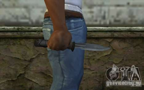 Retextured Knife для GTA San Andreas третий скриншот