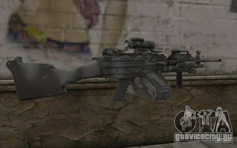 Minigun MK48 для GTA San Andreas второй скриншот