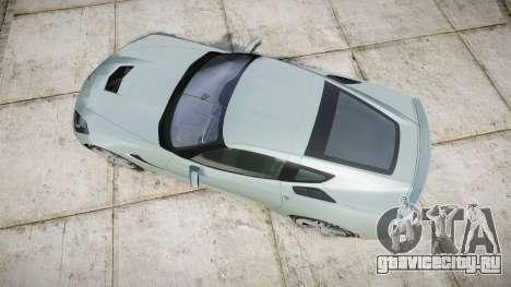 Chevrolet Corvette C7 Stingray 2014 v2.0 TireGY для GTA 4 вид справа