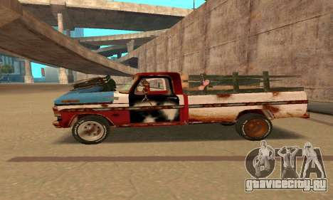 Ford PickUp Rusted для GTA San Andreas вид слева