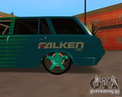ВАЗ 2104 Falken для GTA San Andreas вид сзади слева