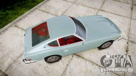 Datsun 260Z 1974 для GTA 4 вид справа