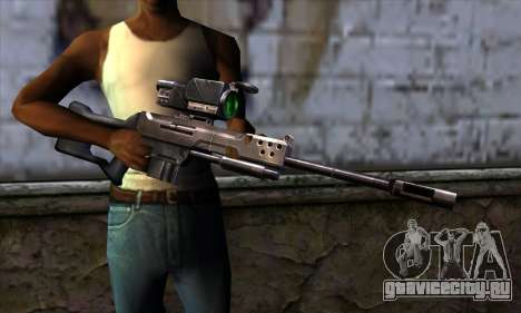 Снайперская винтовка (C&C: Renegade) для GTA San Andreas третий скриншот
