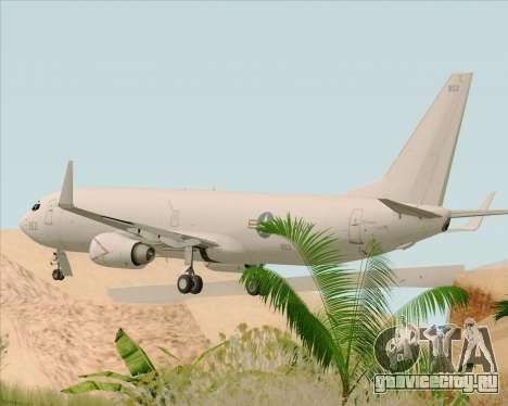 Boeing P-8 Poseidon US Navy для GTA San Andreas вид сзади слева