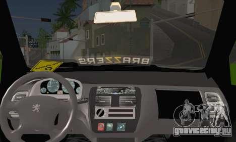 Peugeot 106 GTI JDM STYLE для GTA San Andreas вид сзади слева