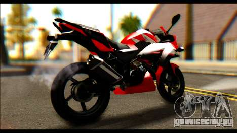 Honda All New CBR150R для GTA San Andreas вид слева