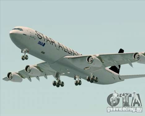 Airbus A340-300 All Nippon Airways (ANA) для GTA San Andreas двигатель