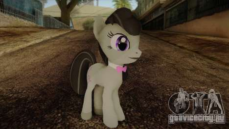 Octavia from My Little Pony для GTA San Andreas