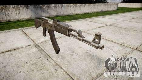 Автомат АК-47 Grey для GTA 4